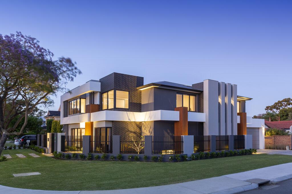luxury house exteriors